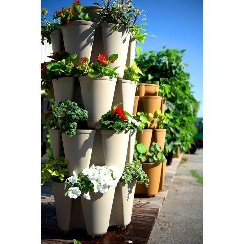 Vertical Garden Planters >> Gardening Supplies Home Garden Greenstalk Vertical Garden