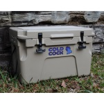 25L Cold Cock Bantam Heavy Duty Cooler in Beige