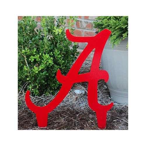 University of Alabama Logo Yard Art
