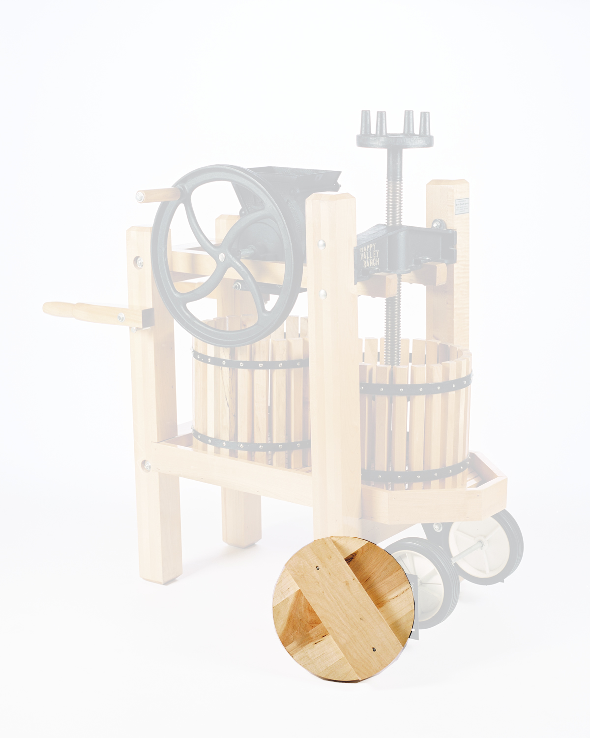 Pressing Disk Complete AH & HS Press (for 13-1/2'' tub)