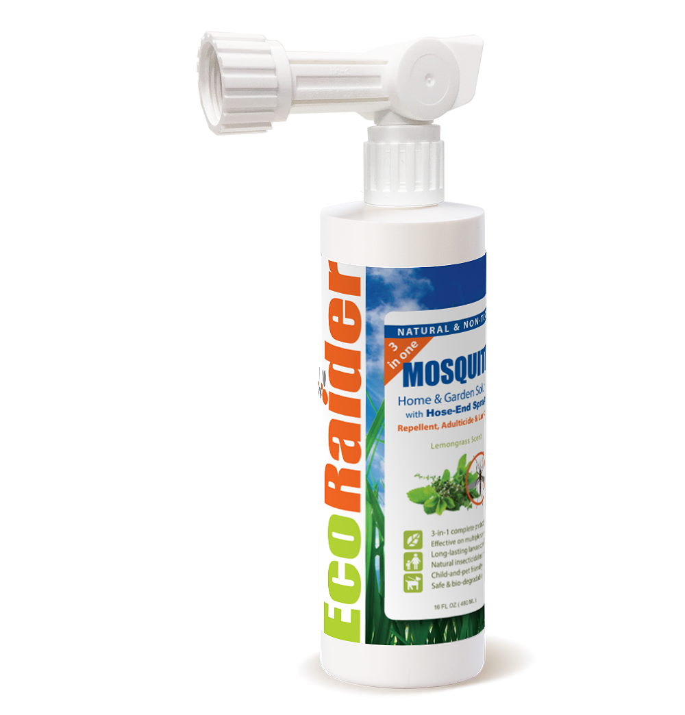 EcoRaider Mosquito Killer & Repllant Spray