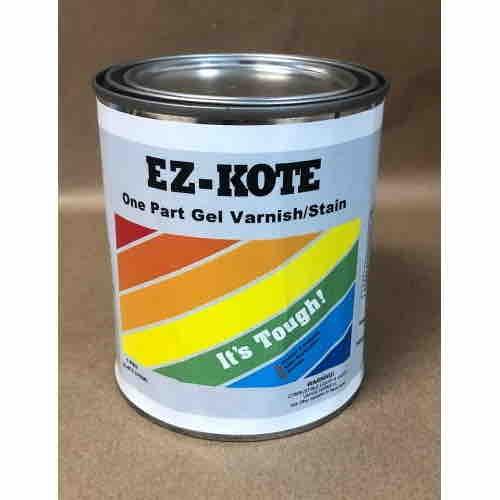 EZ-Kote One Part Gel Varnish/Stain - PINT