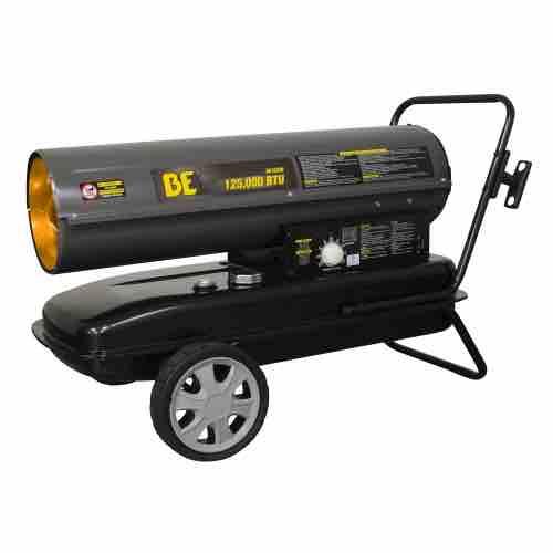 BE Pressure 125,000 BTU Kerosene/Diesel Forced Air Heater