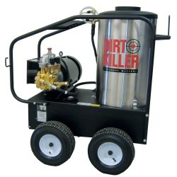 Dirt Killer E3000 Hot Water Single Phase Electric Industrial Pressure Washer