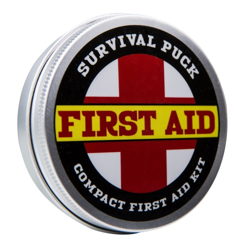 First Aid Survival Puck