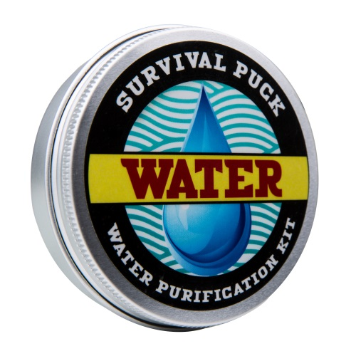 Water Purification Survival Puck